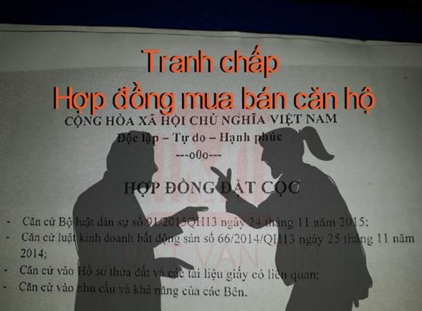 tranh chap hop dong mua ban can ho 2 - Tranh chấp hợp đồng mua bán căn hộ chung cư