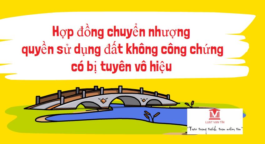 1234 1 - Hợp Đồng Chuyển Nhượng Quyền Sử Dụng Đất Không Công Chứng