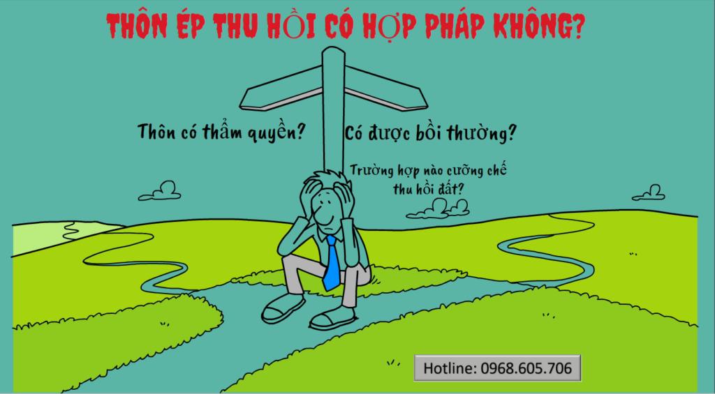 THON EP THU HOI DAT CO HOP PHAP KHONG 1024x565 - THÔN ÉP THU HỒI ĐẤT CÓ HỢP PHÁP KHÔNG?