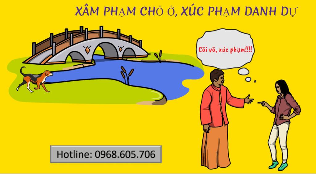 XAM PHAM CHO O XUC PHAM DANH DU 1024x565 - XÂM PHẠM CHỔ Ở, XÚC PHẠM DANH DỰ