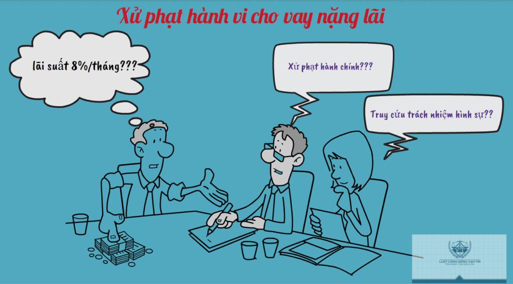 Xu phat hanh vi cho vay nang lai 1024x568 - Xử phạt hành vi cho vay nặng lãi