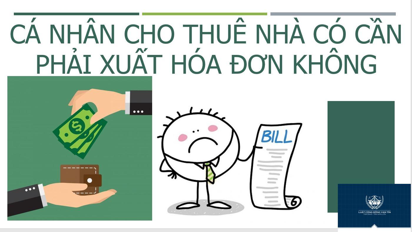 123 2 - Cá nhân cho thuê nhà có phải xuất hóa đơn