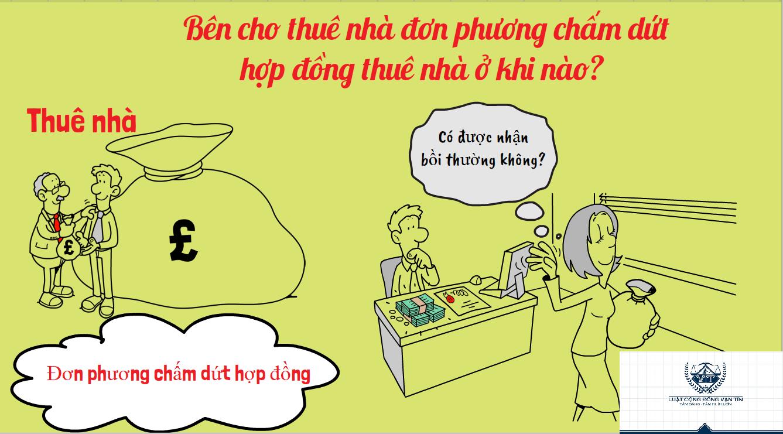 Ben cho thue nha don phuong cham dut hop dong nha o khi nao 1 - Bên cho thuê nhà đơn phương chấm dứt hợp đồng thuê nhà ở khi nào?