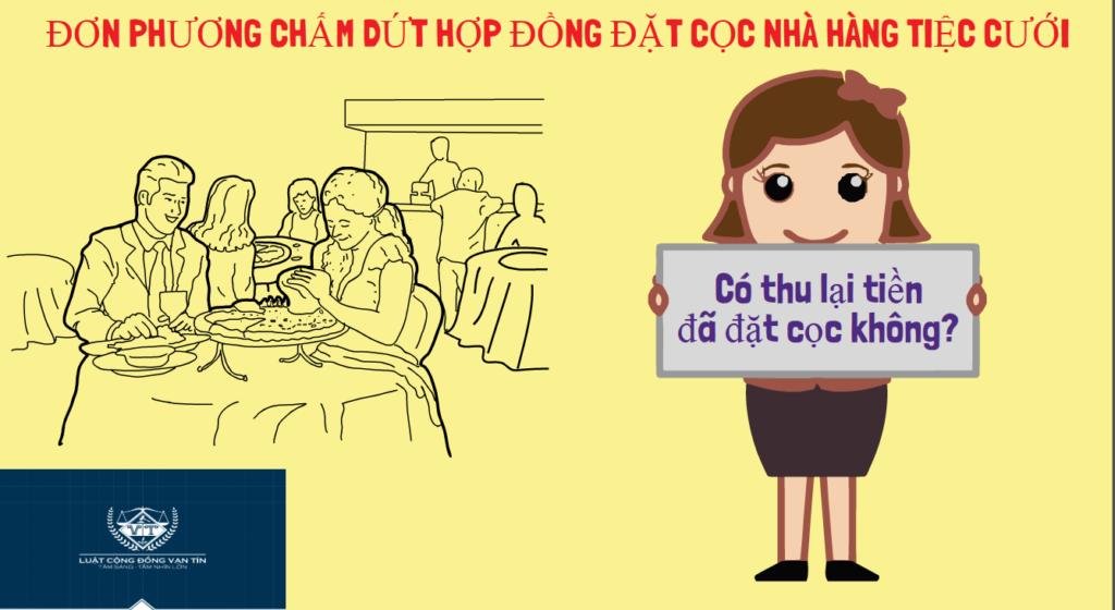 DON PHUONG CHAM DUT HOP DONG DAT COC NHA HANG TIEC CUOI 1024x560 - ĐƠN PHƯƠNG CHẤM DỨT HỢP ĐỒNG ĐẶT CỌC NHÀ HÀNG TIỆC CƯỚI
