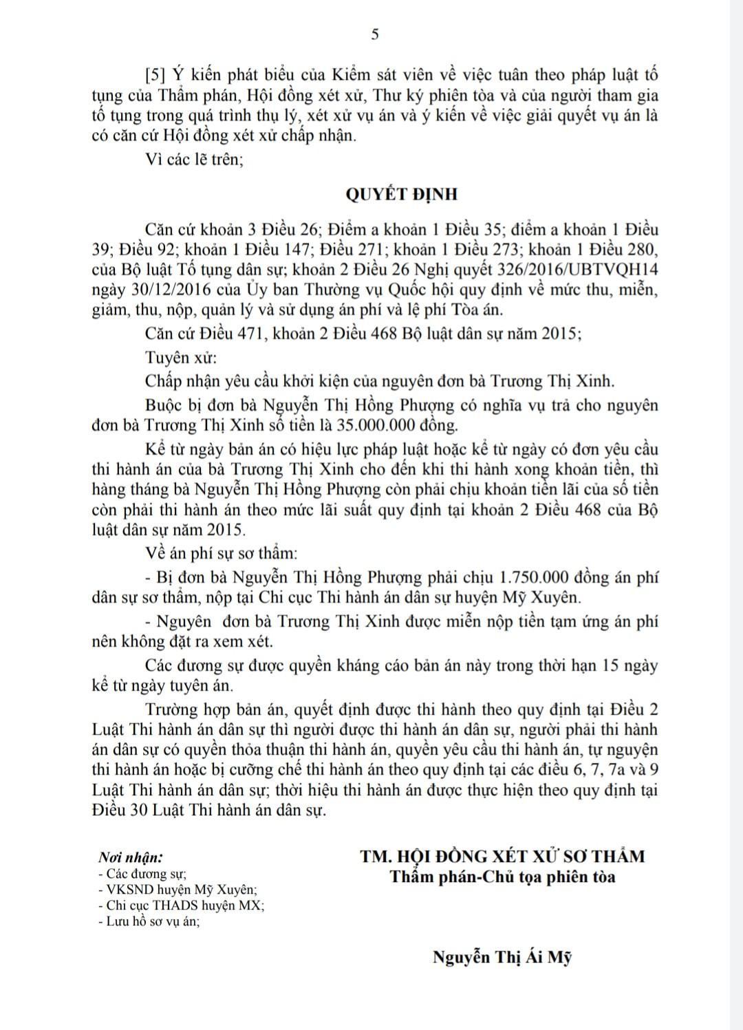 HUIIJ 5 - TRANH CHẤP HỤI - BẢN ÁN THỰC TẾ TẠI SÓC TRĂNG