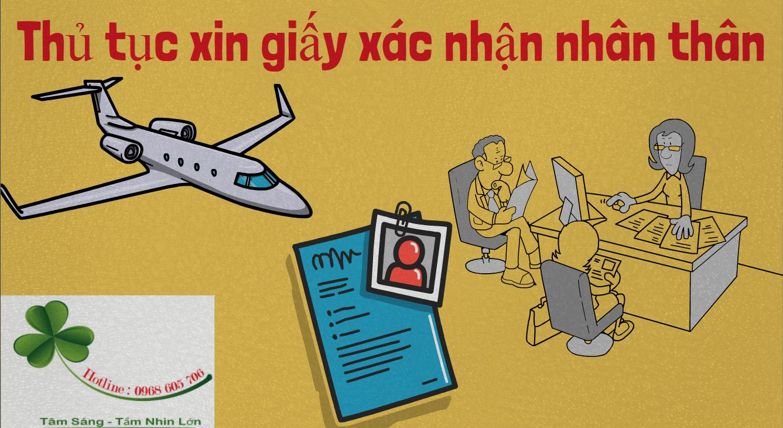 Thu tuc xin giay xac nhan nhan than - Thủ tục xin giấy xác nhận nhân thân